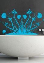stickers mural plante