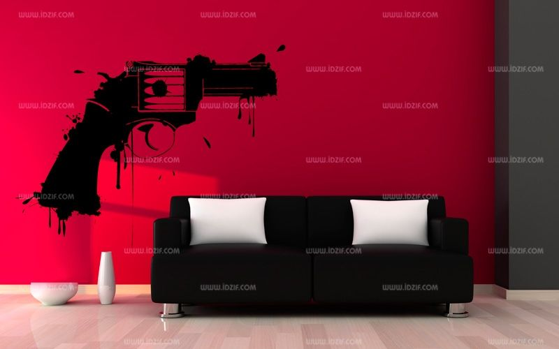 stickers pistolet