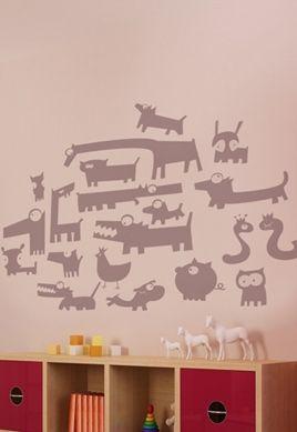 Stickers nos amis les bêtes.