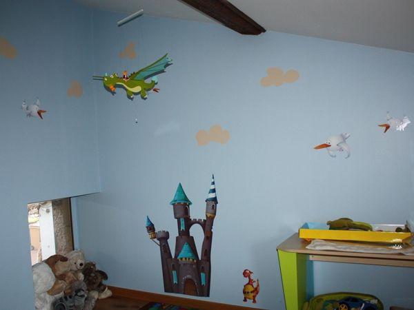 Stickers nuages enchantés pour décorer dans un univers féériques les murs de votre maison. En vente sur Idzif.com