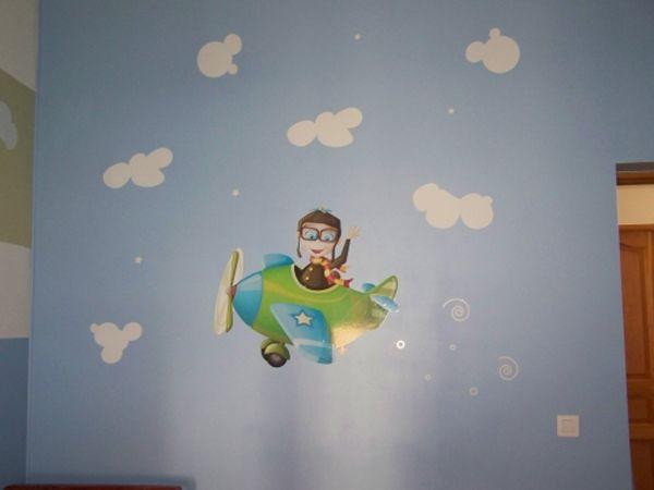 Stickers muraux nuages enchantés en vente sur iDzif.com