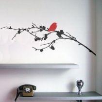 Stickers Oiseau sur branche