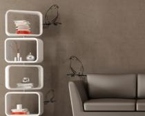 Le stickers oiseau sur branche pour décorer l\'intérieur