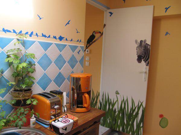 Sticker oiseaux sur un fil en vente sur Idzif.com