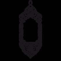 Le stickers oriental baroque en noir pour une décoration exotique