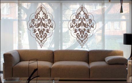 Le stickers ornement oriental pour une décoration ethnique et dépaysante