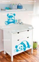 Stickers panda pour bébé