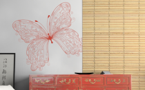 Le stickers papillon dessin pour une décoration pleine de douceur