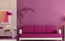 Le stickers papillon coin pour une d�coration pleine de douceur