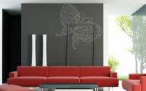 Le stickers papillon esquisse pour une décoration pleine de douceur