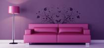 Le stickers papillon végétation pour une décoration pleine de douceur