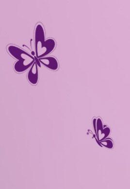 Stickers papillons manga