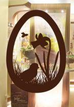 Stickers Pâques pour vitrine