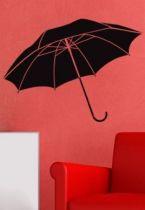 stickers parapluie couleur