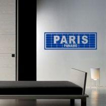Stickers Paris paname