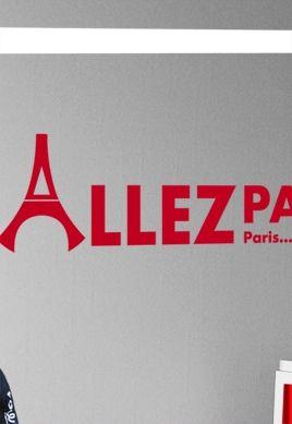stickers psg chant des supporters allez paris. Black Bedroom Furniture Sets. Home Design Ideas
