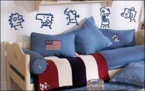 Le stickers personnages cartoon pour décorer une chambre d\'enfant