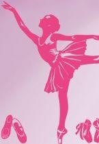stickers petit rat de l\'opéra pour décoration murale, en vente sur iDzif.com