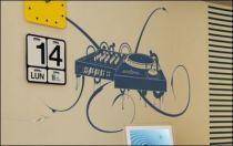 Le stickers platine DJ pour décorer une chambre d\'enfant