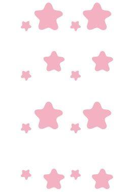 Stickers pluie d\'étoiles