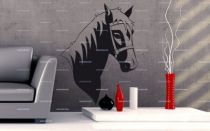 stickers muraux poney