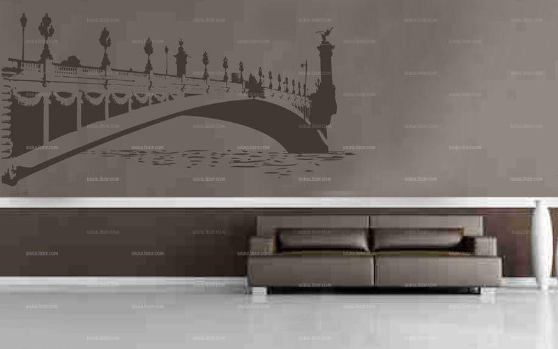 Stickers pont alexandre 3 pour décoration d\'intérieure sur Paris