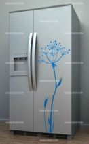 Stickers frigo des stickers pour la d coration de votre for Decoration porte frigidaire