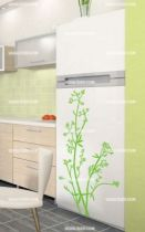 Stickers porte frigo nature