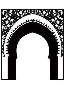 Stickers porte orientale for Porte orientale