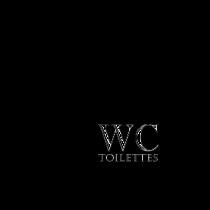 Le stickers potence toilettes pour décorer des wc