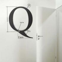 Stickers Q by Hilton McConnico