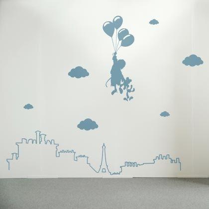 Stickers rêve parisien