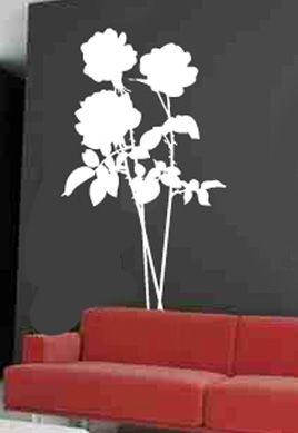 Stickers rosier pour décoration d\'intérieur. Sticker mural nature en vente sur iDzif.com