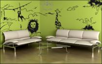 Le stickers safari décor pour décorer une chambre d\'enfant