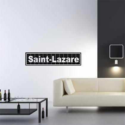 Stickers Saint-Lazare