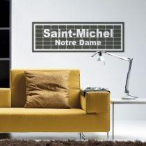 Stickers Saint-Michel Notre Dame