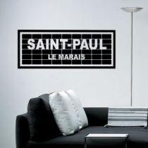 Stickers Saint-Paul le Marais