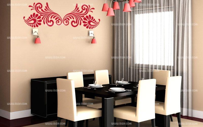 stickers salle manger. Black Bedroom Furniture Sets. Home Design Ideas