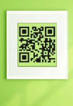 Stickers QR code baignoire