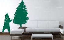 Stickers sapin forestier