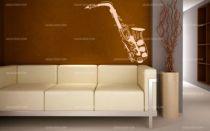 Stickers saxophone