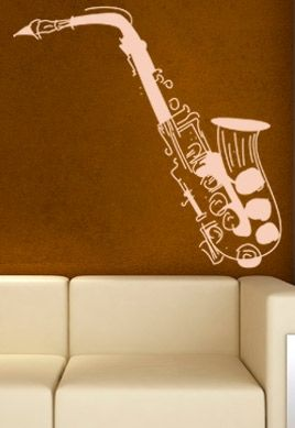 Stickers saxophone