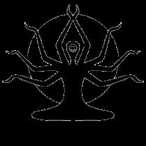 Le stickers shiva zen en noir pour une décoration exotique