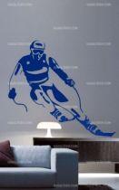 Stickers skieur