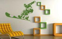 Le stickers snowboard freestyle pour décorer sur le thème du sport