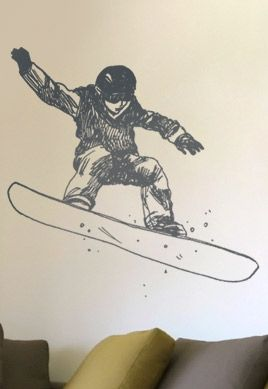 Stickers snowboard