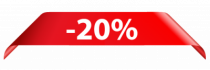 Stickers soldes -20%