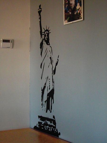 Sticker mural Statue de la liberté