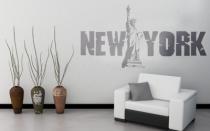Le stickers statue de New-York pour la déco d\'intérieur