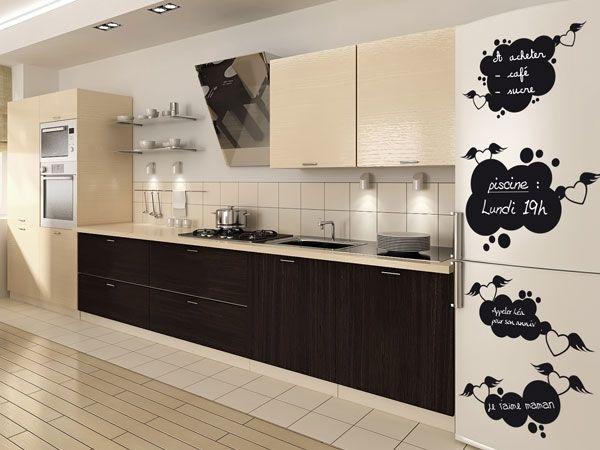 stickers ardoise bulles avec coeurs volants. Black Bedroom Furniture Sets. Home Design Ideas